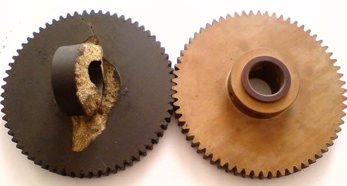 Изготовление шестерен из текстолита по образцам