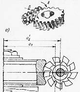 Изготовление червячного колесо червячной фрезой