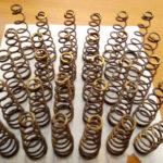 Изготовление конических пружин, цилиндрических пружин в СПб