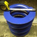 Изготовление пружины сжатия из прутка 40мм