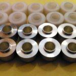 Изготовление втулок из алюминия и пластика. Токарные автоматы